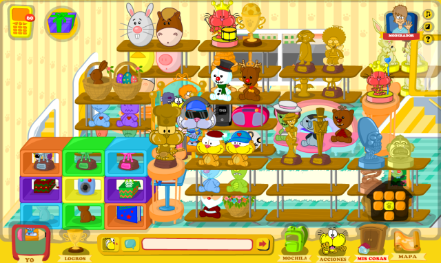 Mi super sala de Trofeos!
