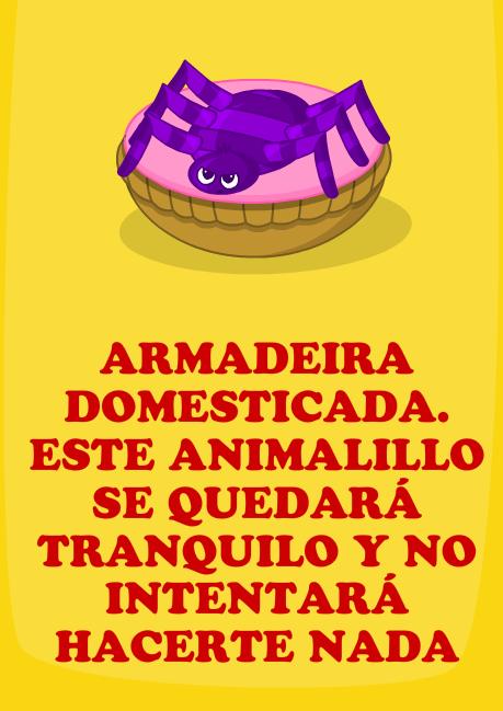 Armadeira domesticada