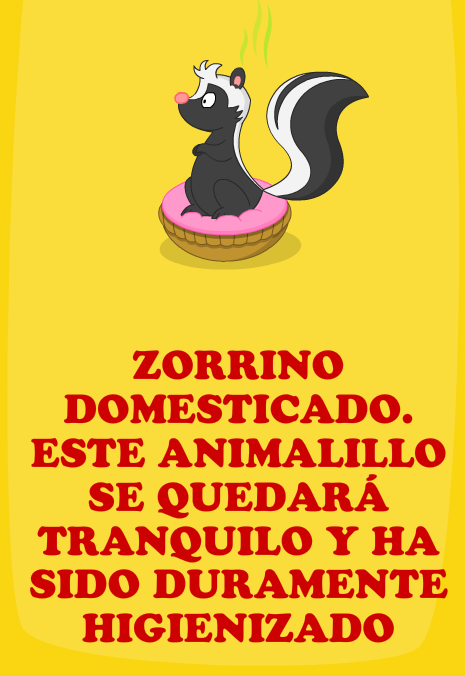Zorrino domesticado