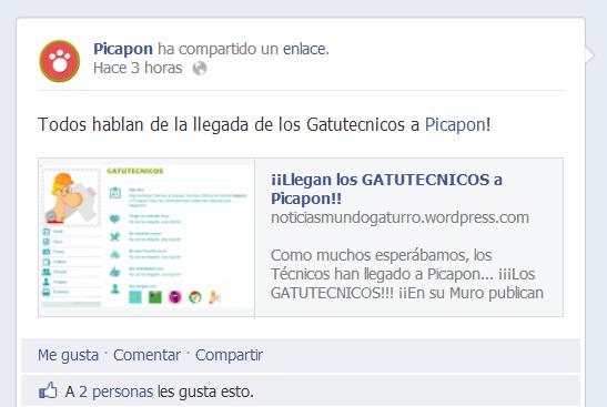 ¡Llegada de los GATUTECNICOS en Picapon!