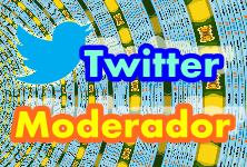Cartel Twitter Moderador MG