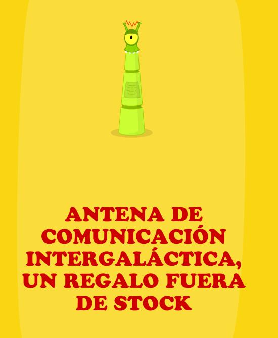 Antena de comunicación extraterrestre