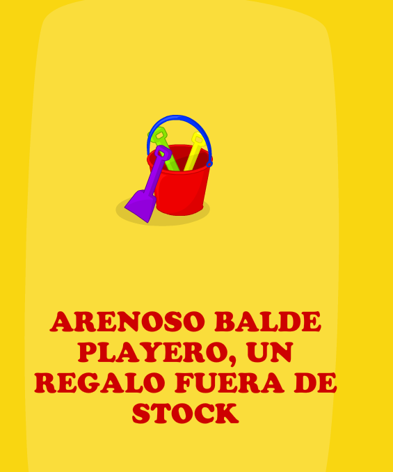 Balde Playero