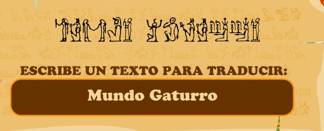 Escribe un texto para traducir