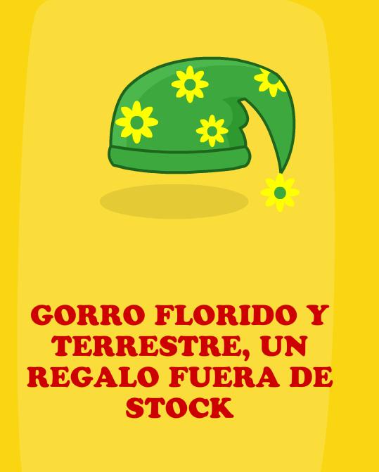 Gorro Florido