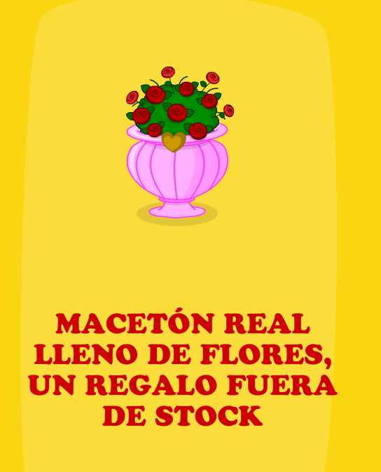 Macetón Real