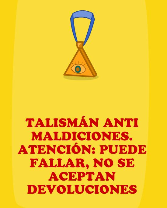Talismán anti maldiciones