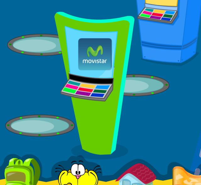 Máquina de códigos de Movistar