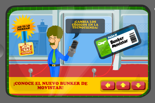 Noticia Bunker Movistar
