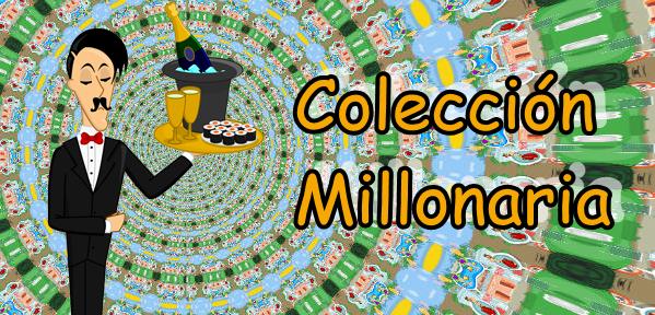 Cartel colección millonaria