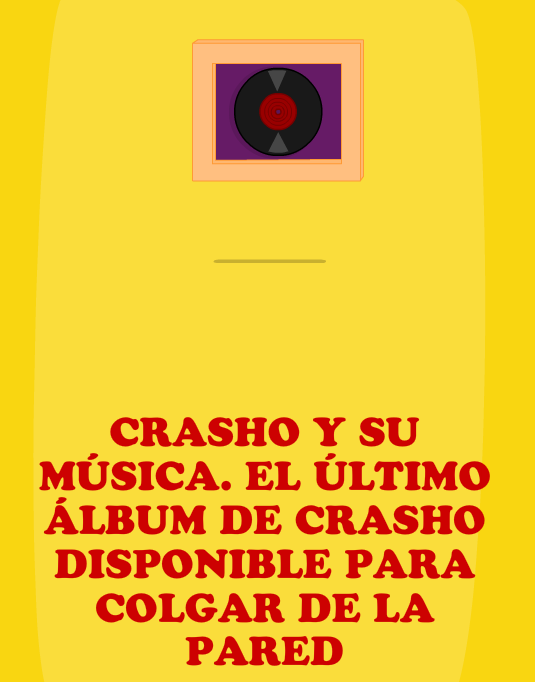 Regalo; disco de Crasho