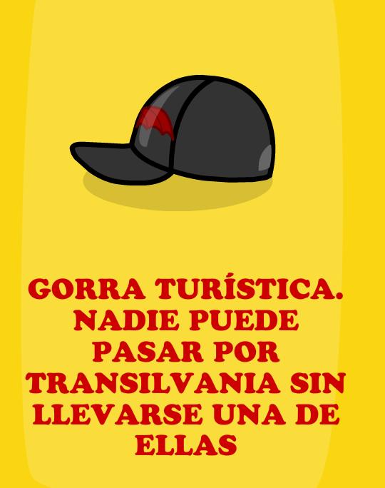 Regalo; Gorra turística
